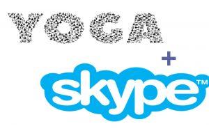 Sesión de Yoga por Skype