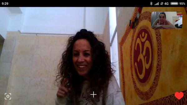 Sesión de Yoga a através de Skype