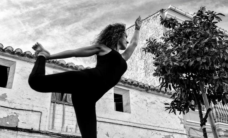 Postura de la danza